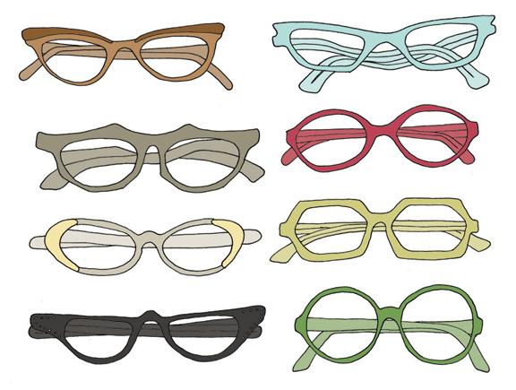 576x435 Glasses Frames Drawing ~ Estudo