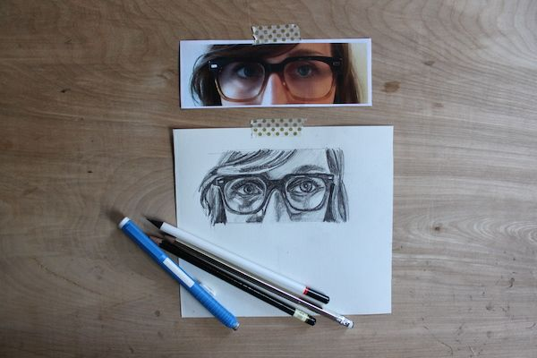 600x400 How To Draw Eyeglasses On A Face Draw, Drawing People And Portraits