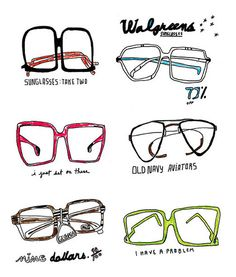 236x277 Glasses. Illustration Inspiration Illustrations
