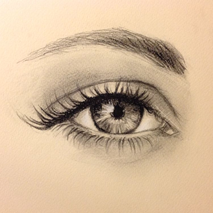 750x750 Gallery How To Draw Girl Eyes And Eyebrows,