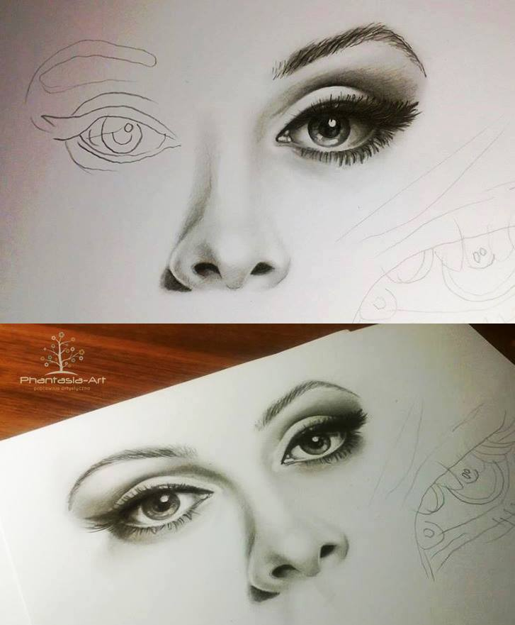Eyes And Lips Drawing At Getdrawings Com Free For Personal Use