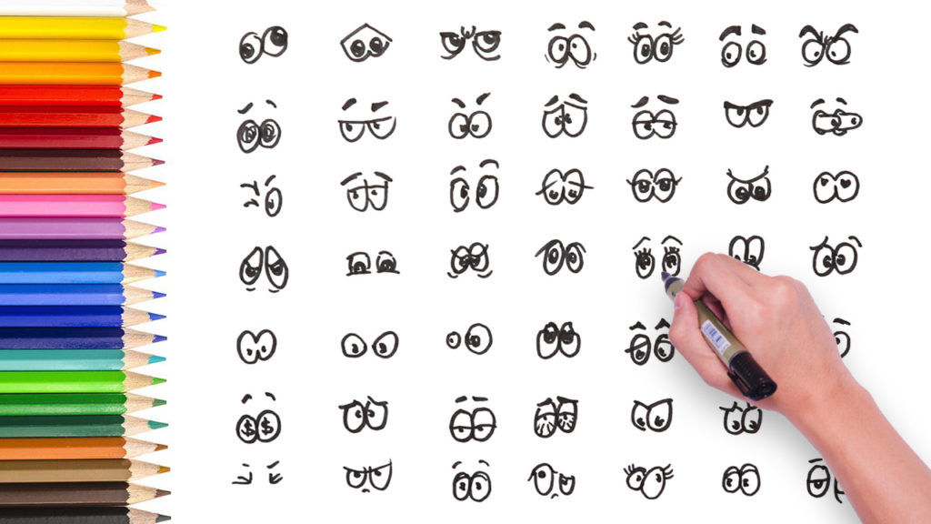 1024x576 Drawing Video) 49 Different Types Of Cartoon Eyes