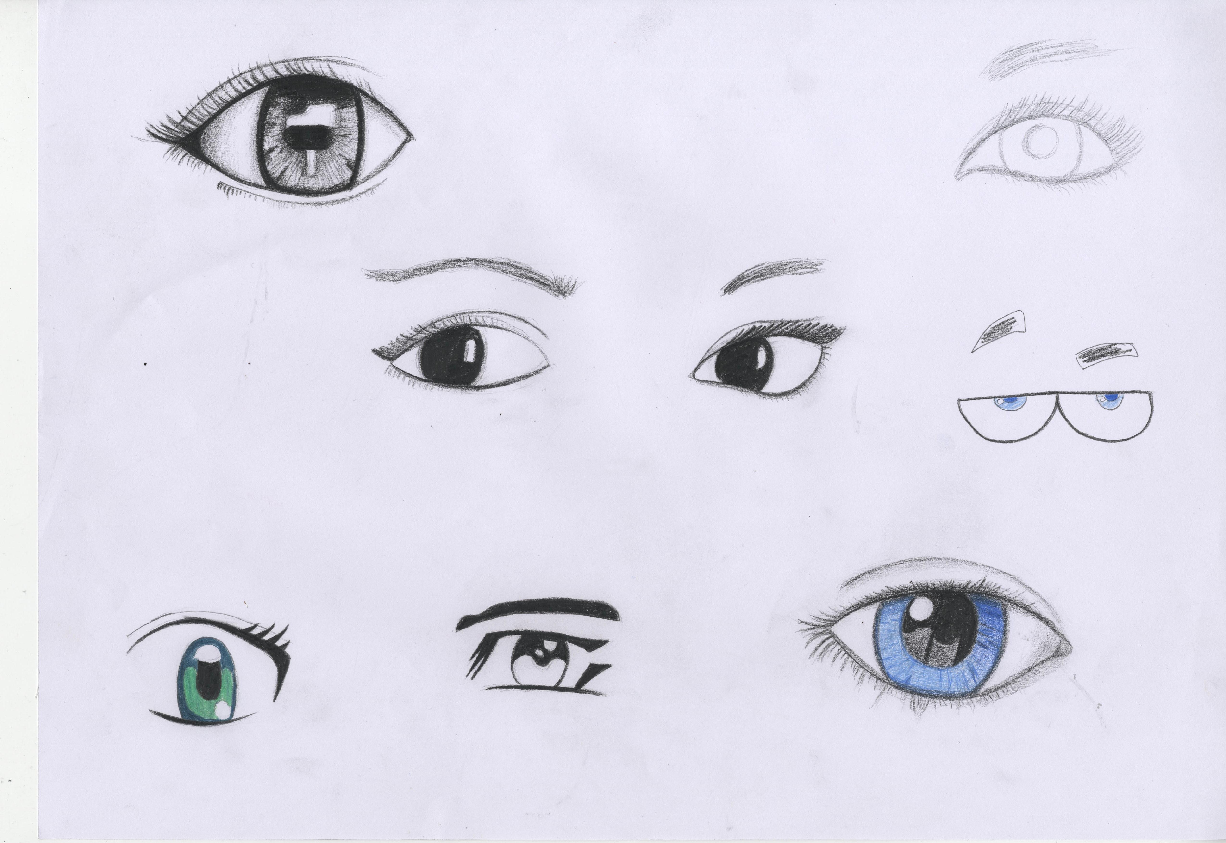 5100x3510 Eye Studies Paigethorntondrawingforanimation