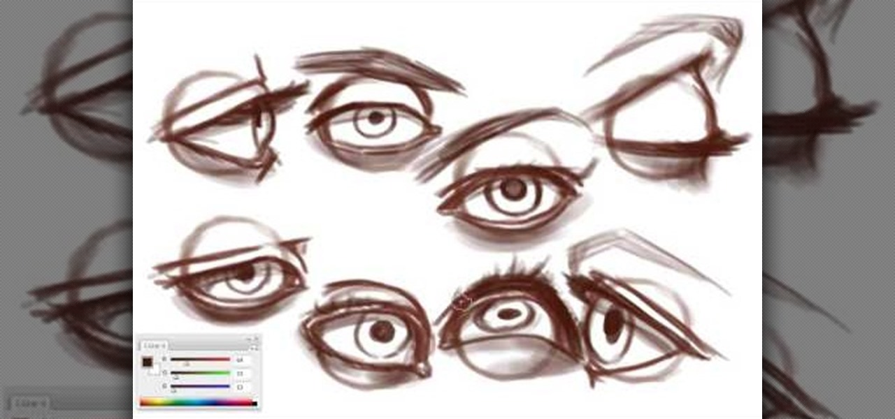 1280x600 How to Draw different kind of eyes Â« Drawing amp Illustration