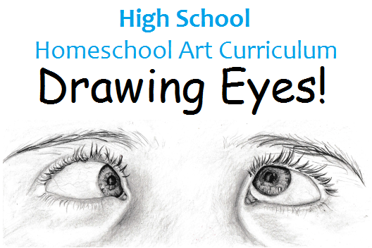 528x352 Highschool Homeschool Art Curriculum Drawing Eyes
