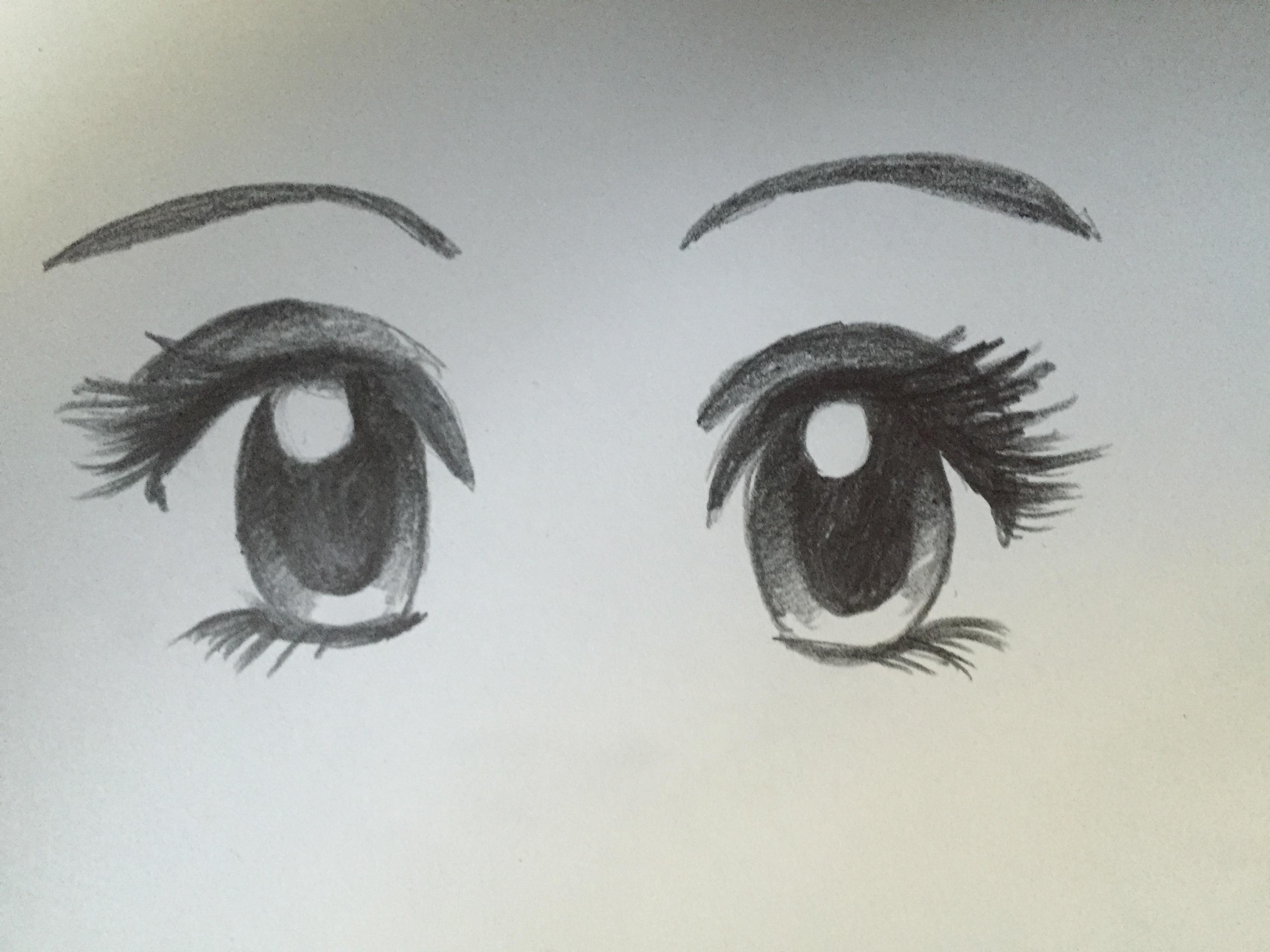 3264x2448 How To Draw Manga Eyes Steemit