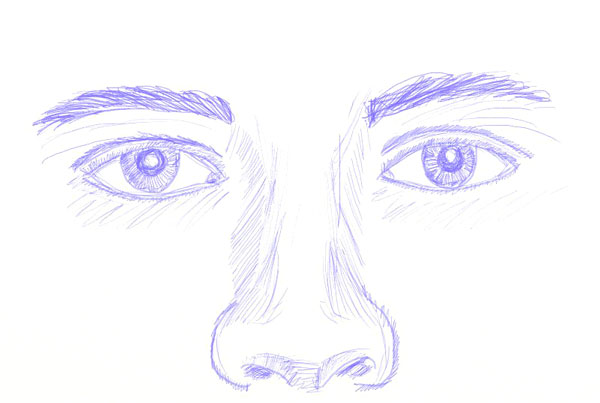 600x403 How To Draw Human Eyes