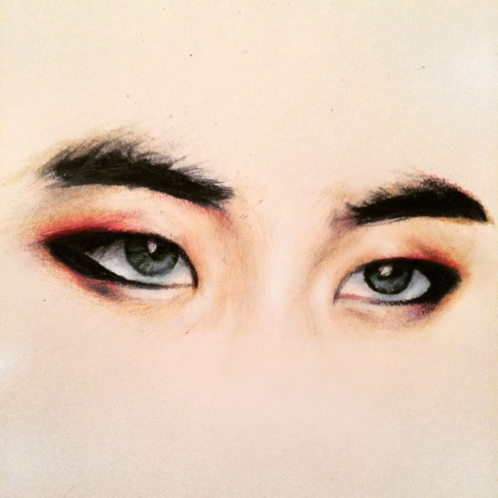 1024x1024 Quick Xiumin Eye Drawing K Pop Amino