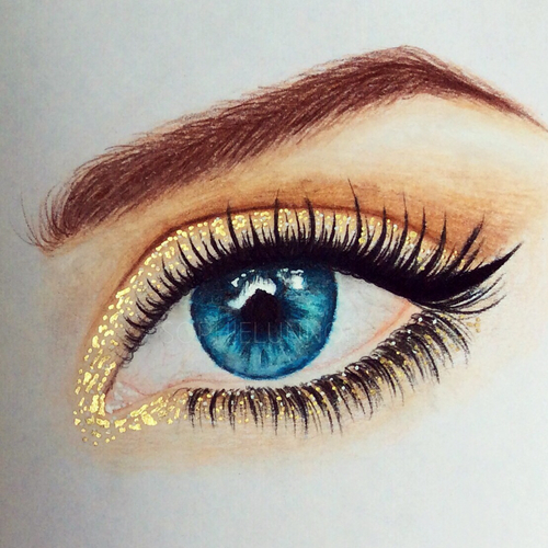500x500 Sparkly Eye Makeup Makeup Sparkly Eye Makeup, Art