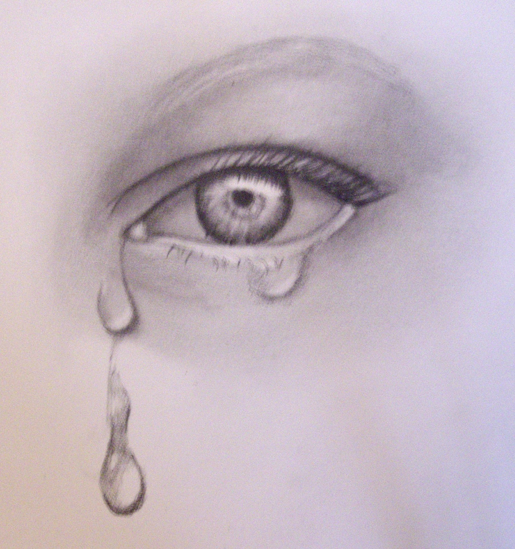 eyes with tears drawing at getdrawings com free for personal use