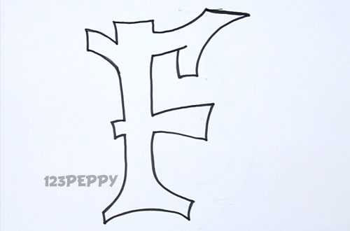 500x330 F Commonly Used Letters Sketch Graffiti Underground Art Las Ms