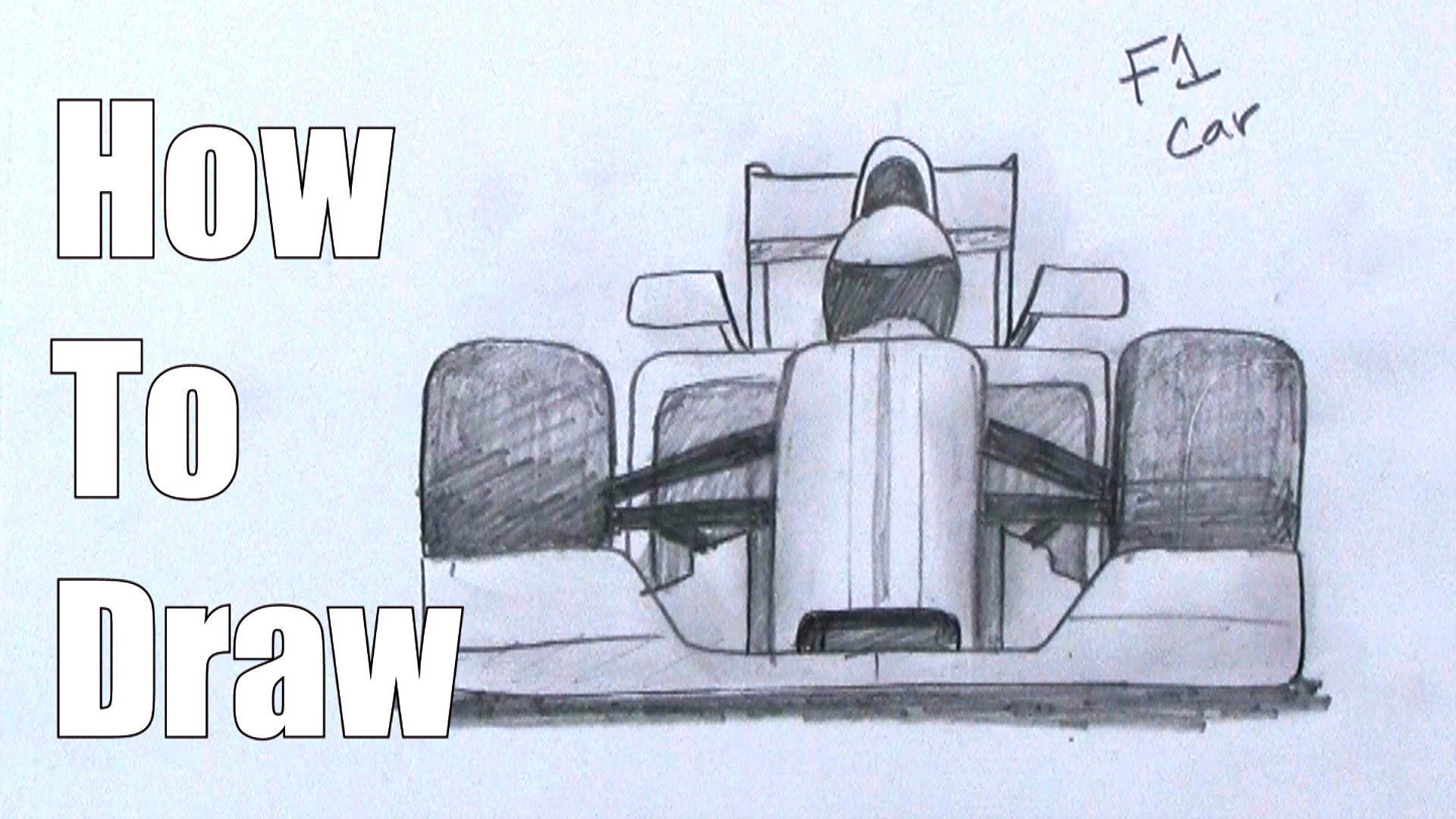 1920x1080 How To Draw An F1 Car