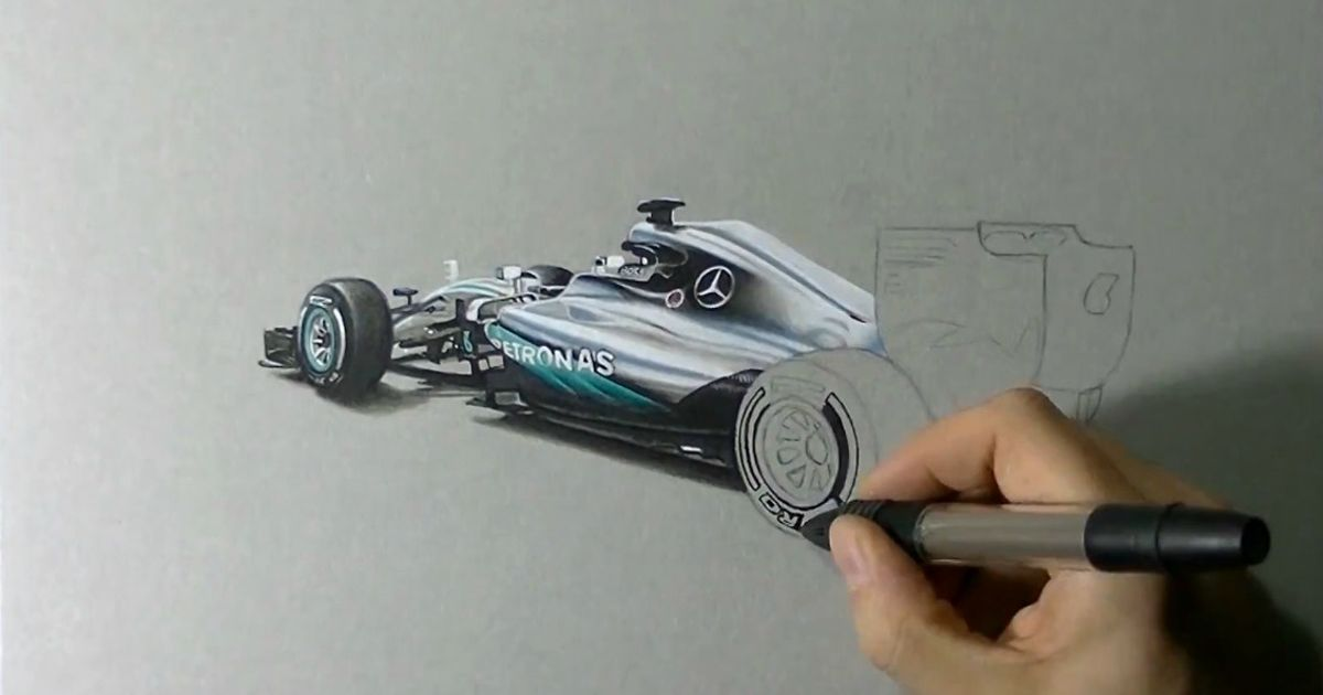 1200x630 Mercedes Reveals Its 2016 F1 Car Through This Stunningly Realistic