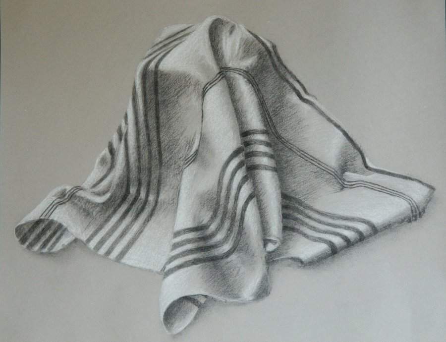 900x690 Draped Fabric Study By Iwill Be Justme