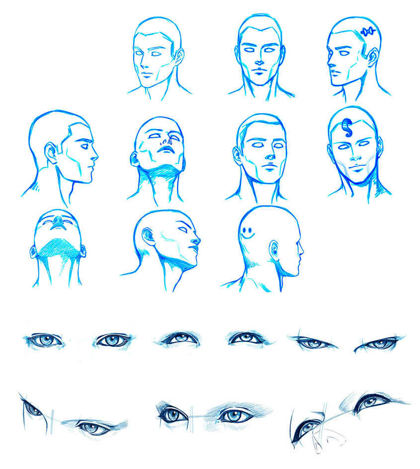 845x945 Head And Eyes Angles By Washu M