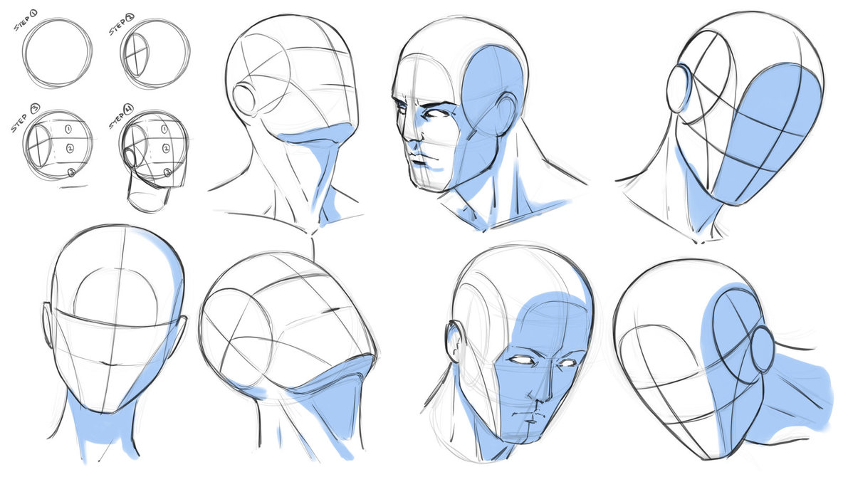 1191x670 How To Draw Heads