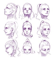 Face Angles Drawing at GetDrawings.com | Free for personal ...