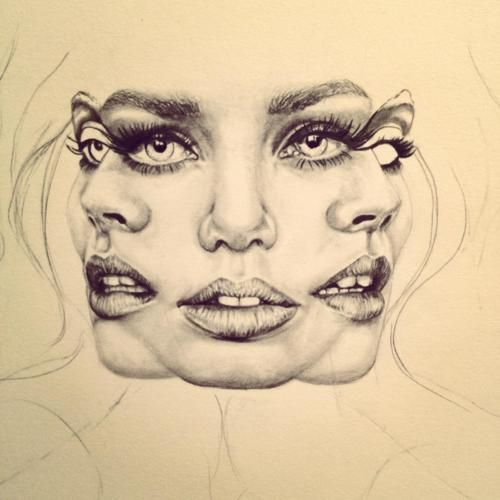 500x500 Photos Art Of Drawing Faces,