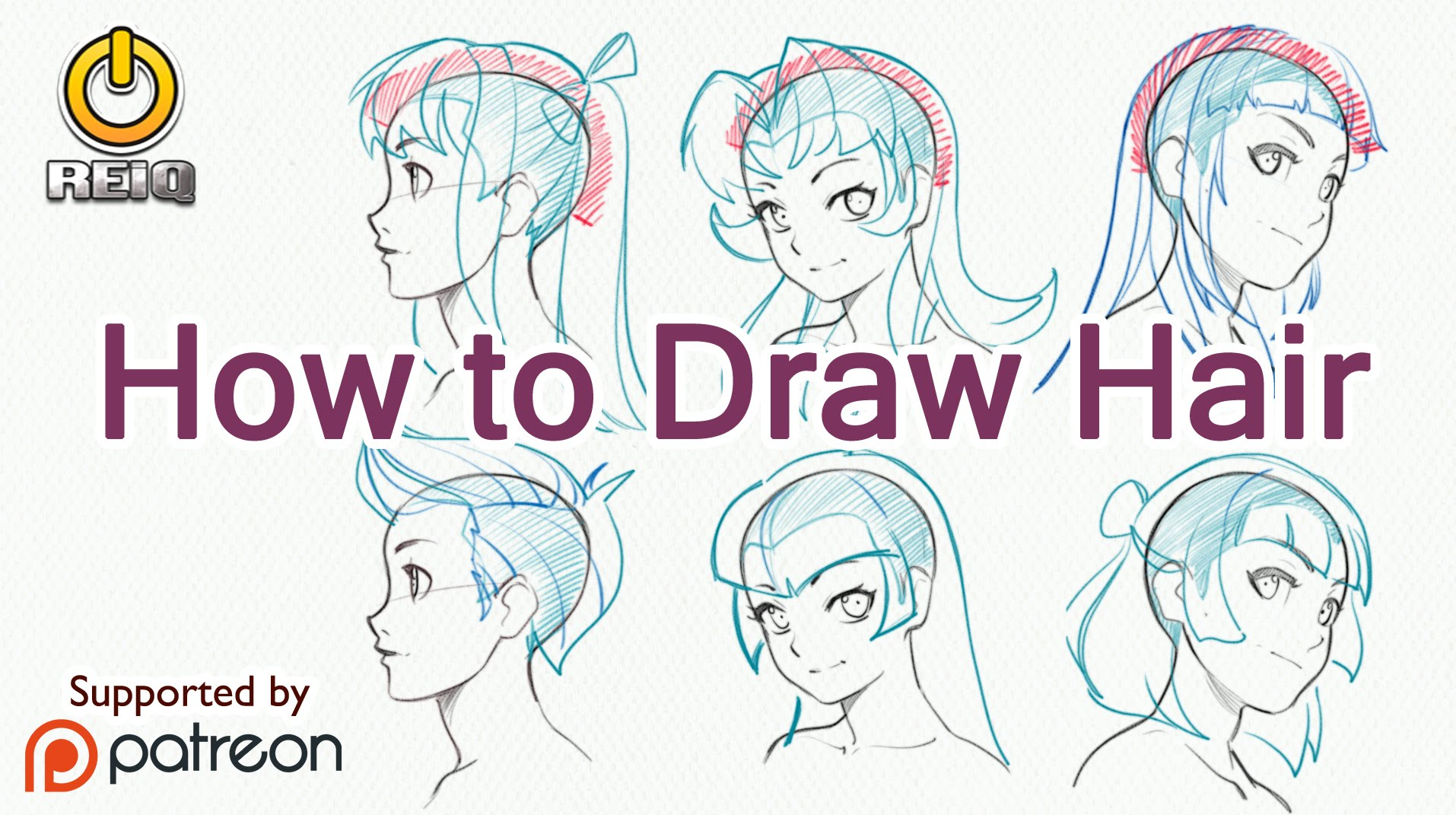 1914x1071 Drawing Hair Anime How Draw Anime Hair, From Construction
