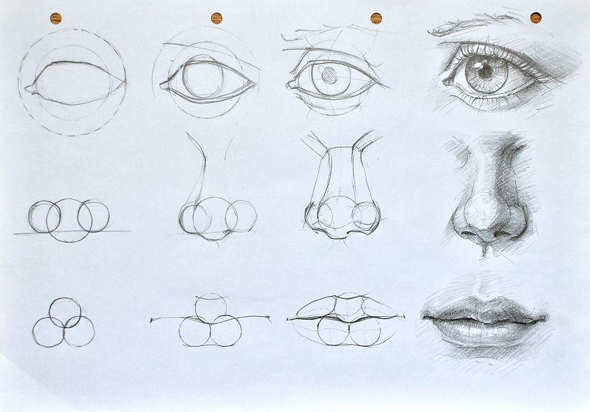 850x594 Facial Features Construction(Cyclops Tutorial D) By