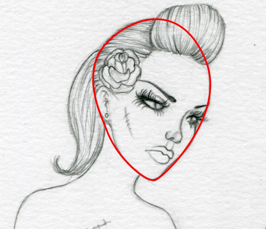 935x805 The Fantasy Art Of Nikki Burnette How I Draw Faces