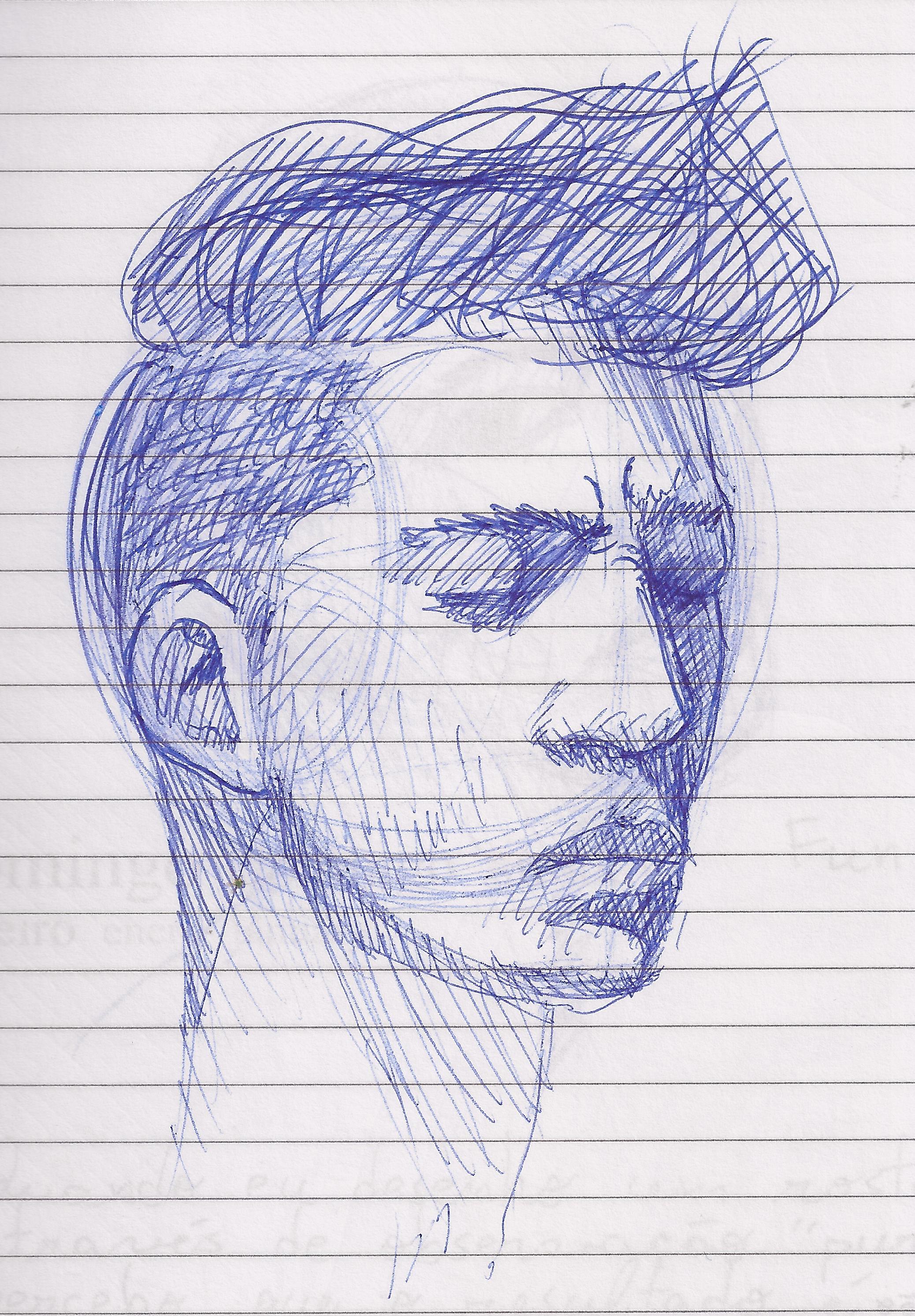 2076x2987 Ballpoint Pen Drawing Meleu's Art Blog