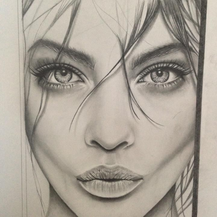 720x720 891 best drawing ( face#39 s) 2 images on Pinterest Art paintings