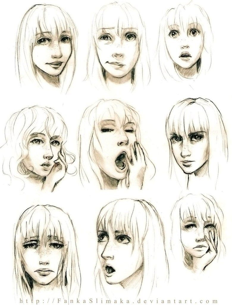 780x1025 Face Expressions By Fankaslimaka On Referencia