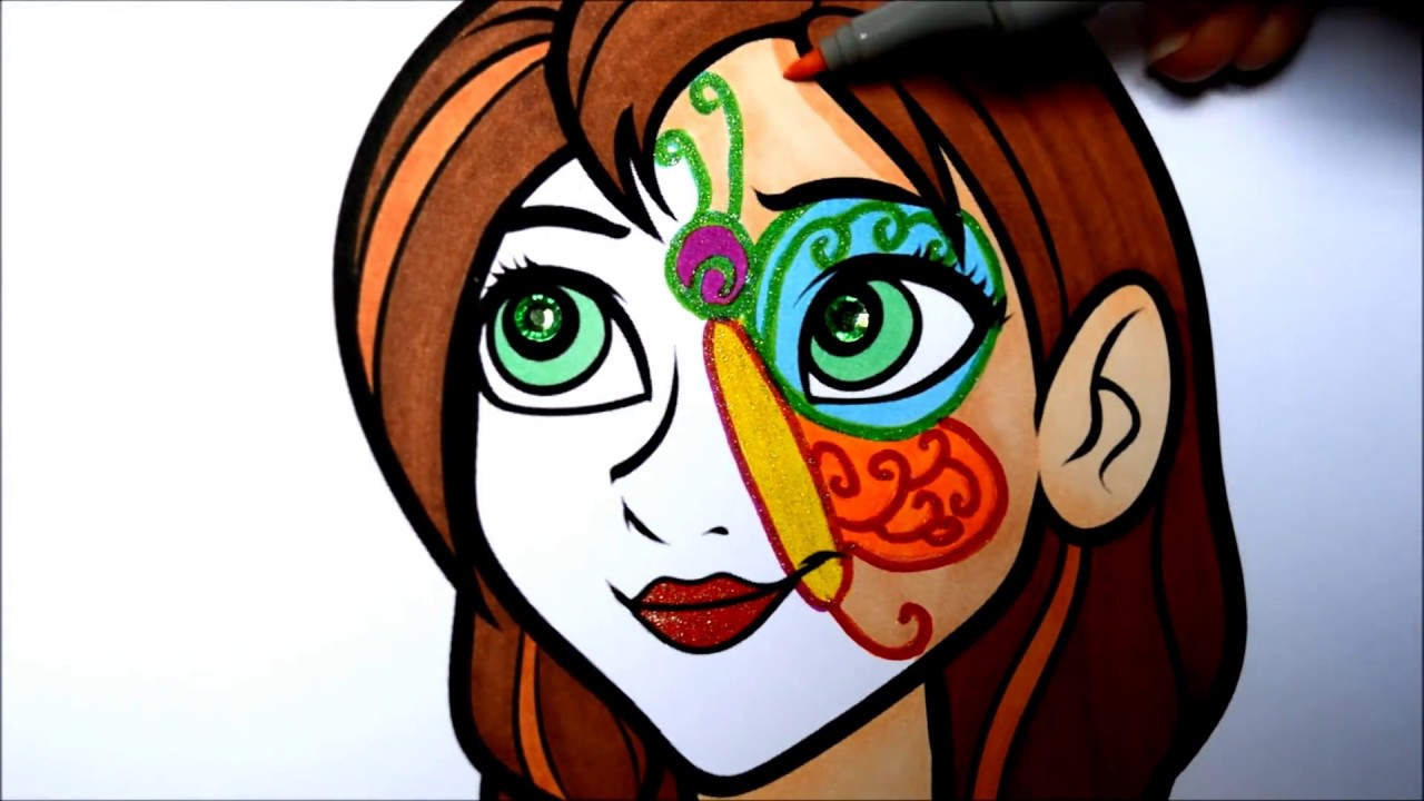 Coloring Pages Of Children S Faces : Face painting drawing at getdrawings free for personal use