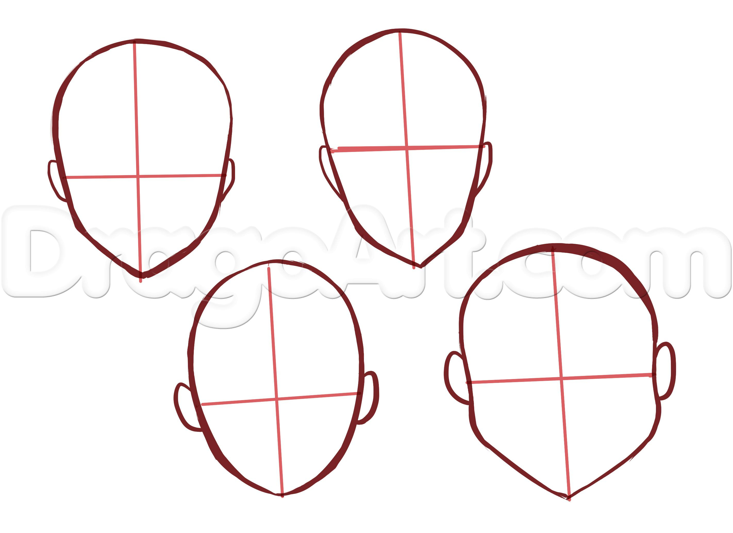 Face Shape Drawing At Getdrawings Com Free For Personal