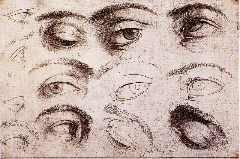 800x531 Eye Study By Jusepe De Ribera (Lo Spagnoletto) (1591 1652, Spain