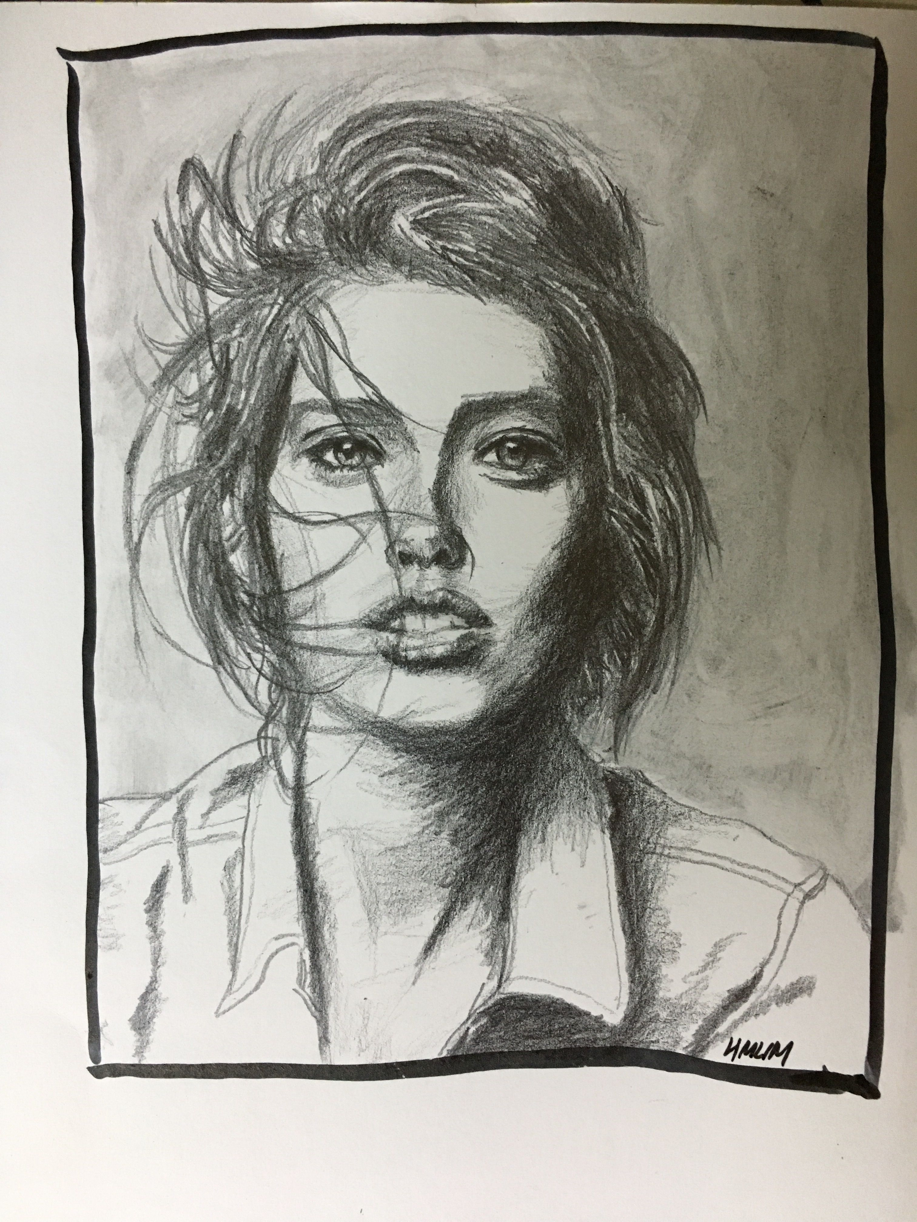 3024x4032 Face Study. 4b. 6b Pencil. Awesome Art Awesome Art