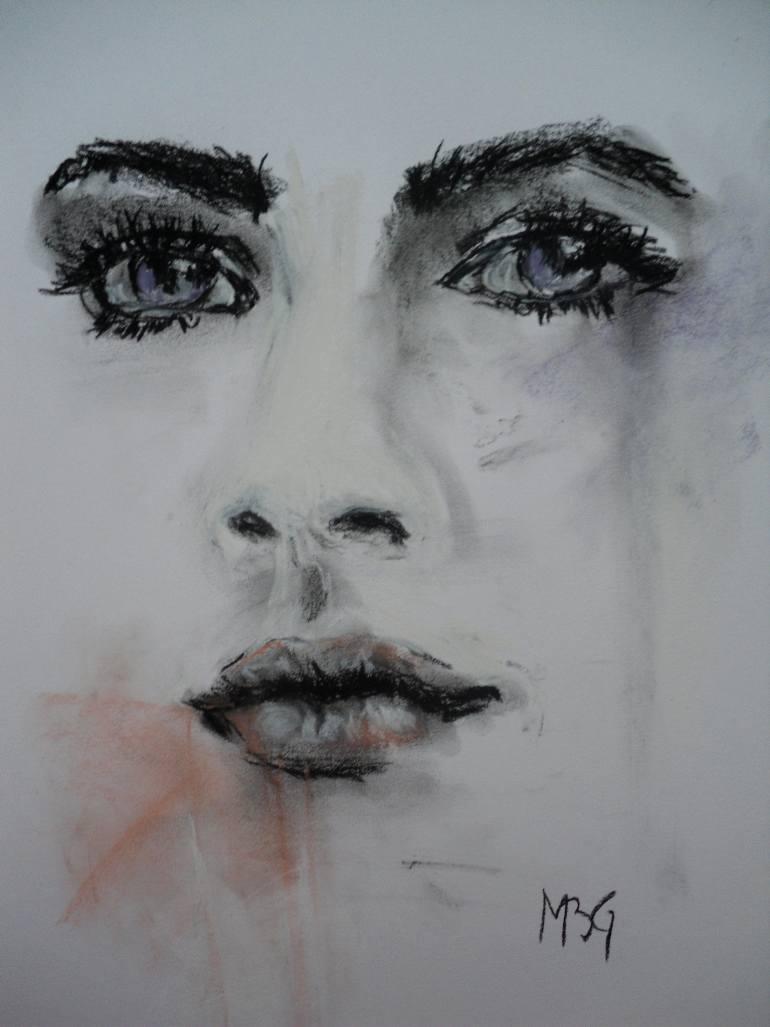 770x1027 Saatchi Art Study Face
