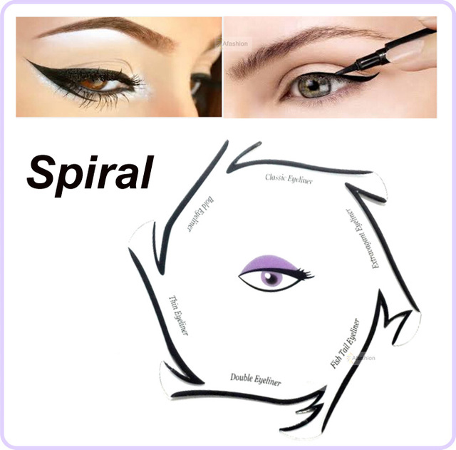 photo relating to Eyeliner Stencil Printable named Deal with Template For Drawing at  No cost for