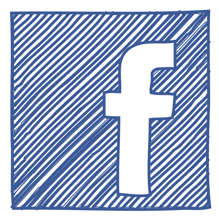 713x713 Facebook Icon Sketch Facebook Icon Logo Sketched