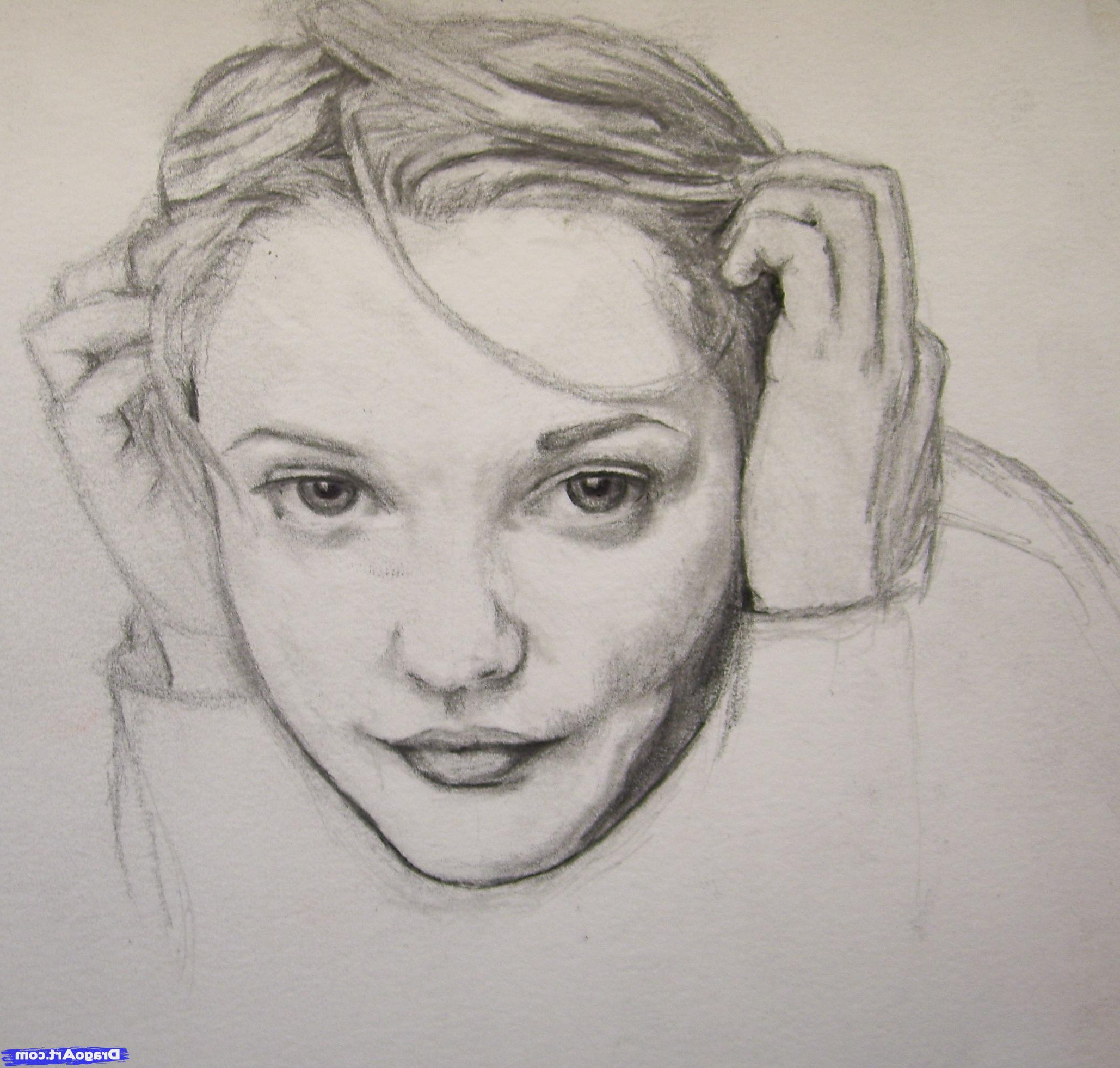 2058x1962 Sketches Of Realistic Faces Sketch Of Real Girl Faces