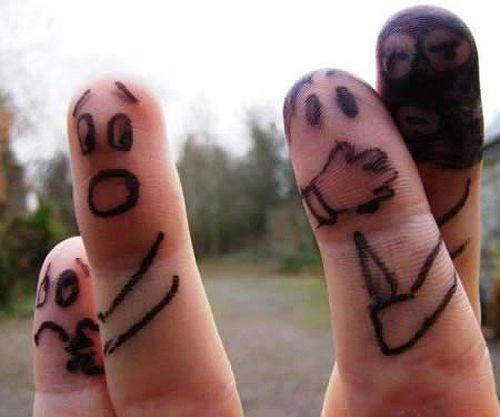 500x417 58 Best Finger Folks Images On Fingers, Funny Fingers