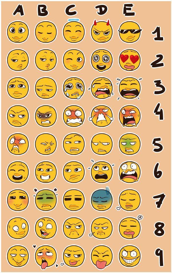 600x950 9be6e8a86672b92b72273b69dd909bbe Emoji Chart Emoji Challenge.jpg