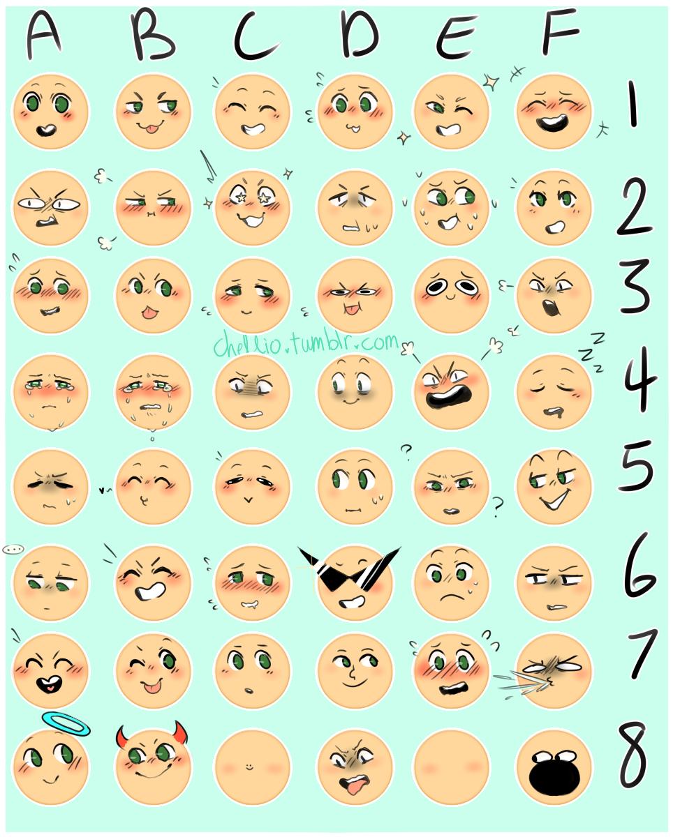 964x1200 Emoji Expression Meme For Fun! By Lilcinnamonrollmama