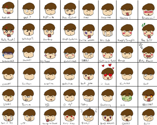 600x480 Ultimate Expression Chart By Toast Tart