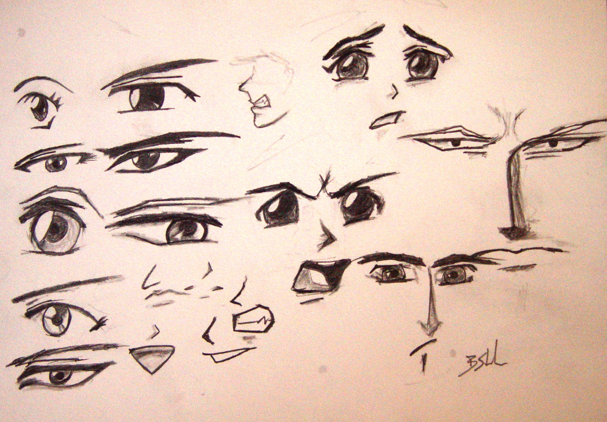 2061x1432 Facial Expressions By Stinehart