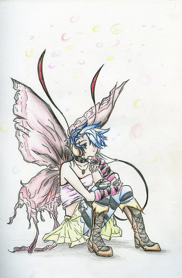 590x900 Faerie Pop Drawing By Kita Liosatos