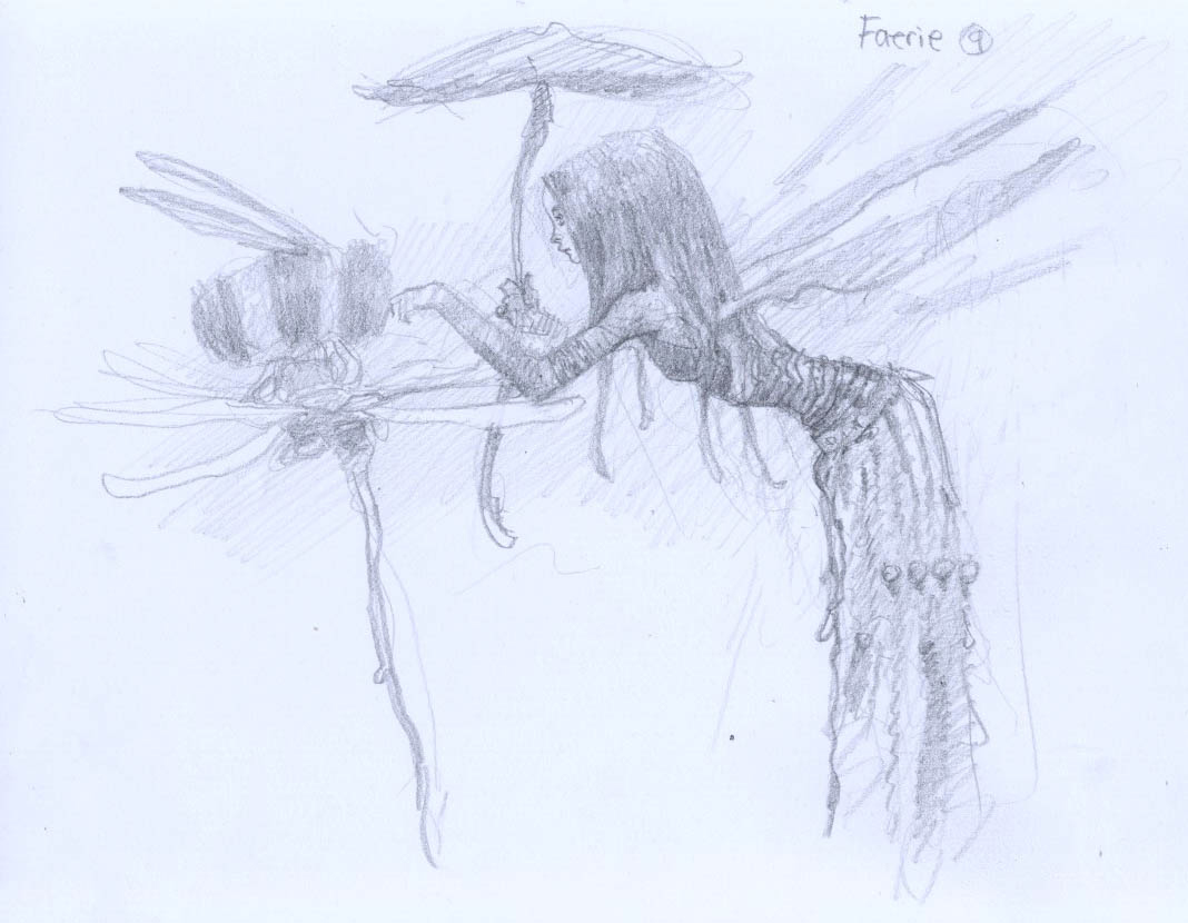 1068x830 Fantasy Characters With Larry Macdougall Faerie In Flight