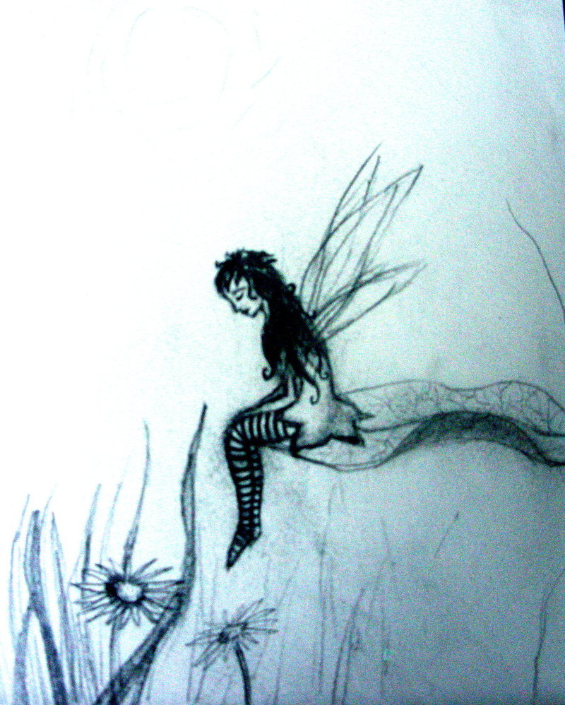 800x998 Unfinished Faerie Drawing. By Fw2