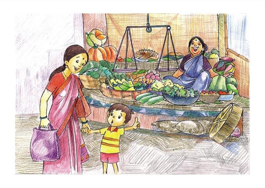 845x600 Fair India. My Country. Drawings. Pictures. Drawings Ideas