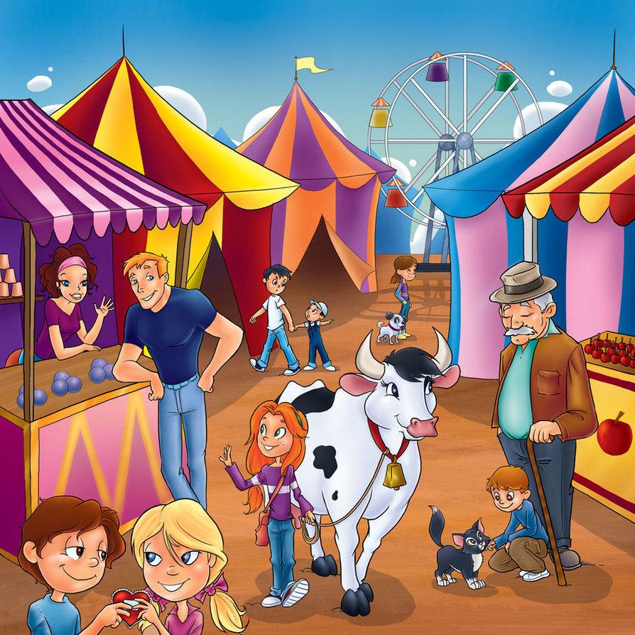 894x894 Village Fair By Bezende