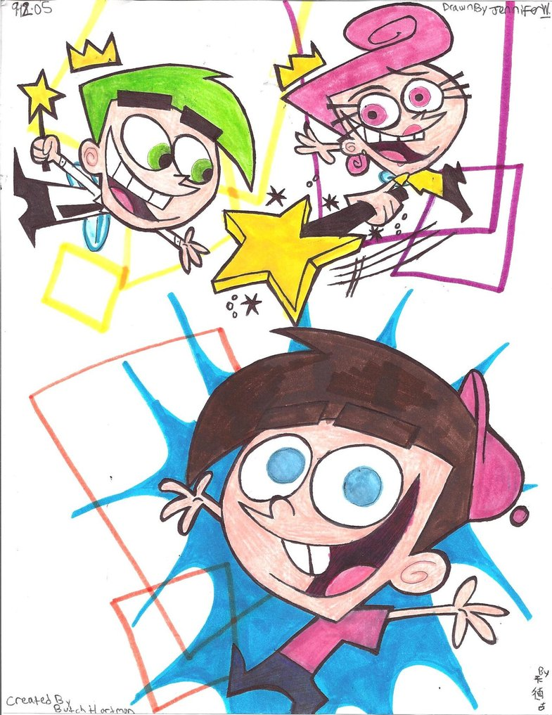 785x1017 Fairly Odd Parents Drawing By Marimokun