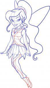 174x302 How To Draw Cinderella Step 8 How To Draw Disney
