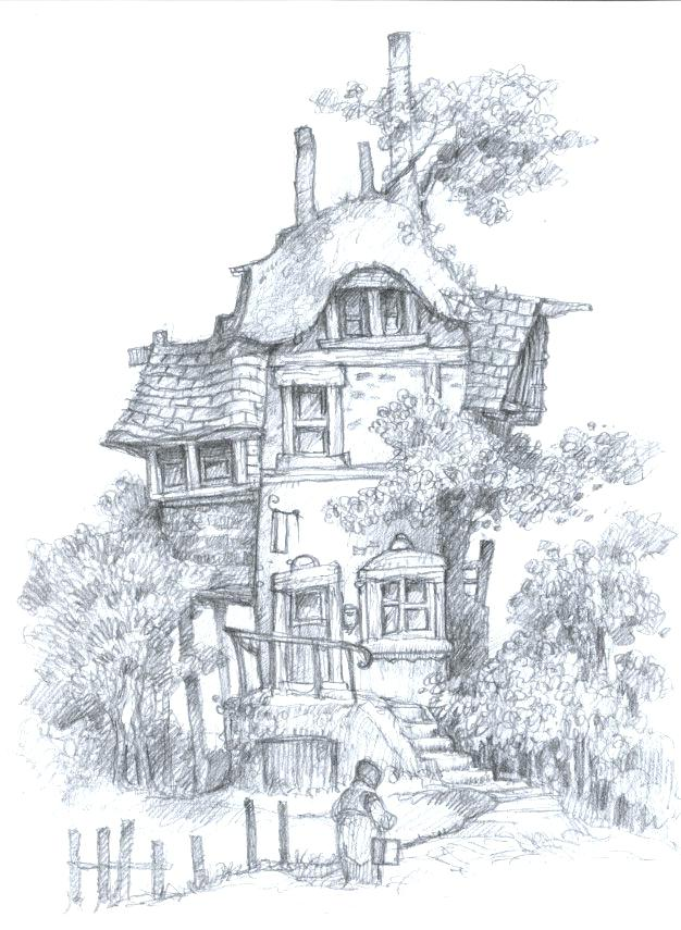626x855 Fairy House Coloring Pages Printable Fairy House Coloring Pages