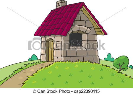 450x318 Fairy House From Three Little Pigs Fairy Tale. Fairy House
